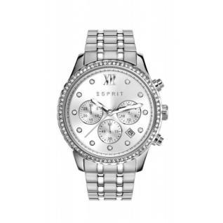 ESPRIT Chronograph Damenuhr Silber ES108732001