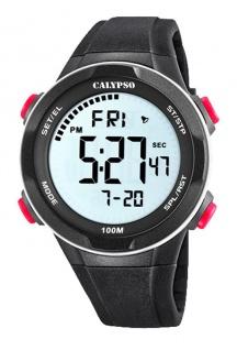 Calypso Herren Armbanduhr schwarz K5780_2
