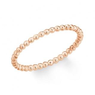 S.Oliver Silber Ring rosévergoldet 2019852