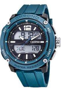 Calypso Herren Armbanduhr petrol K5796_2