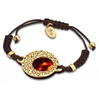 Lotus Style Armband Textil Edelstahl LS1601/2/3