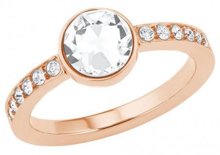 S.Oliver Edelstahl Ring mit Swarovski Elements 2026164