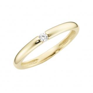 Ring 375/-Gelbgold mit Zirkonia GG143-93011540000
