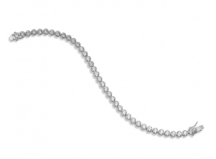 Armband Silber Zirkonia GISSER_TRFP4