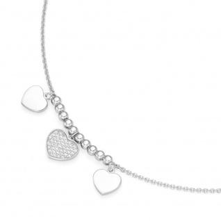 Silber Kette Herz 99028893450