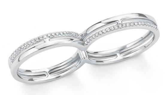 S.Oliver Silber Doppel Ring 2015104