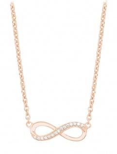 S.Oliver Silber Kette Infinity rosévergoldet 2024289