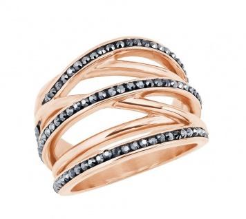 S.Oliver Edelstahl Ring mit Swarovski Elements 2024279