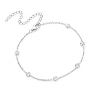 Fußkettchen Silber Zirkonia 92006693280