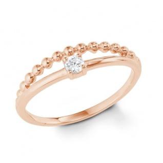 S.Oliver Silber Ring rosévergoldet 2022714