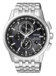 Citizen Eco-Drive Herren Funkuhr Chrono AT8110-61E