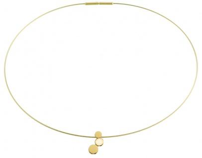 Boccia Titan Anhänger goldfarben 07025-02