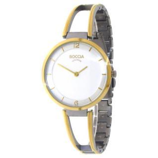 Boccia Damen Titan Uhr bicolor 3260-02