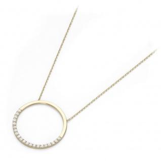 Mittelteil Collier 375 Gold 99025940450