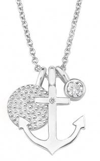 S.Oliver Maritim-Halskette aus Silber 2017246
