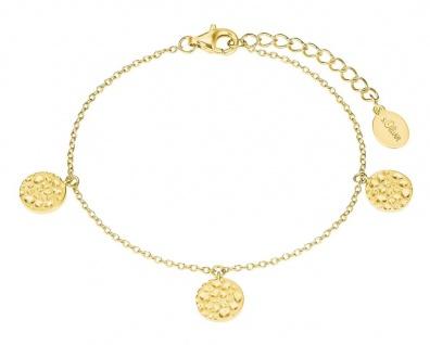 s.Oliver Silber Münz-Armband vergoldet 2027552