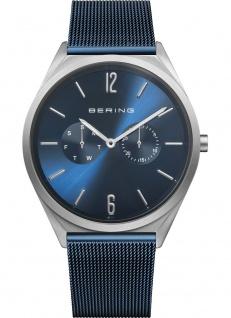 Bering Herrenuhr Multifunktion blau 17140-307