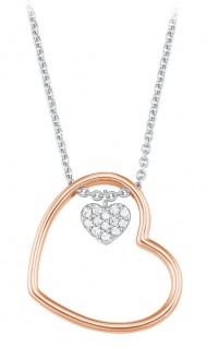 S.Oliver Silber Halskette Herz 2024288 - Vorschau 1