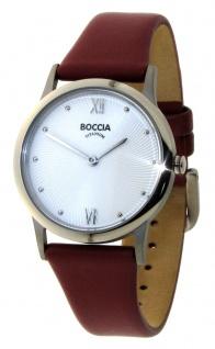 Boccia Damen Titan Uhr Lederband 3265-01