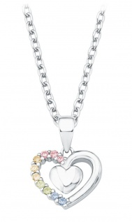 Prinzessin Lillifee Silberkette mit Herz-Anhänger 2024377