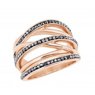 S.Oliver Edelstahl Ring rosévergoldet 2024279