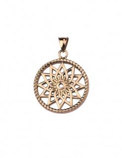 Traumfänger Mandala Anhänger small Rosegold