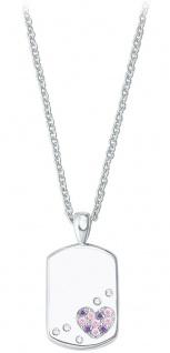 Prinzessin Lillifee Silberkette mit Plaketten-Anhänger 2027206