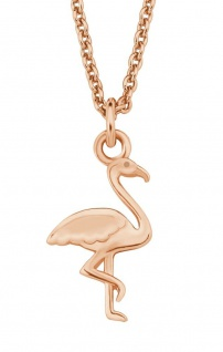 S.Oliver Silber Kette Flamingo rosévergoldet 2019866