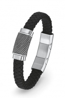 S.Oliver Herren Leder Armband 2015054