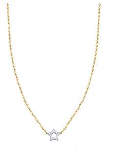 ESPRIT Kette Gold Stern Collier ESNL93366B420