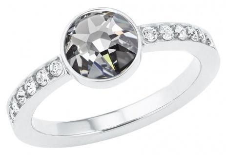 S.Oliver Edelstahl Ring mit Swarovski Elements 2026155