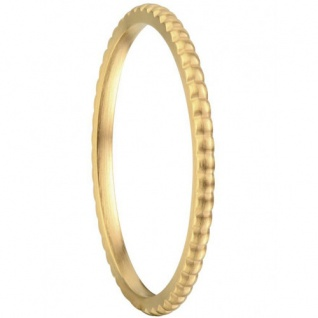 BERING Arctic Symphony Ring goldfarben matt