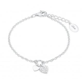 c50f4507ad3931 S.Oliver Silber Armband Herz 2022701 - Kaufen bei schmuckshopping.de
