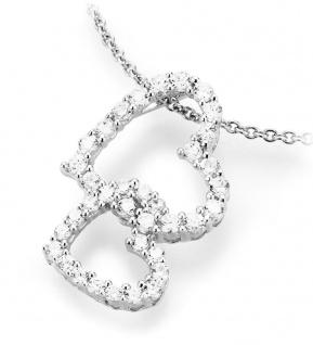 Kette mit Herzanhänger Silber 9908993450