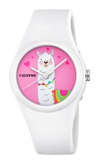 Calypso Kinderuhr K5789/1 Alpaka weiß