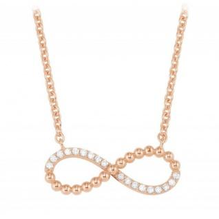 S.Oliver Silber Kette Infinity rosévergoldet 2022743