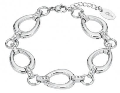 S.Oliver Edelstahl Armband mit Swarovski Elements 2026193