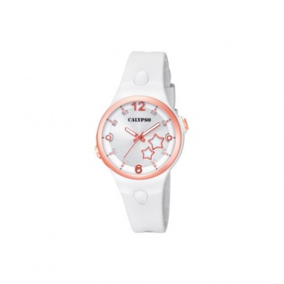 Calypso Armbanduhr weiß K5745/1