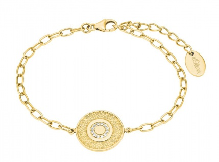 s.Oliver Silber Armband vergoldet 2027622