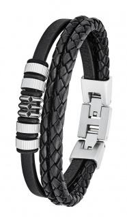 S.Oliver Herren Leder Armband 2027438