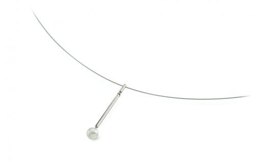 Boccia Titan Collier Süßwasserperle 08037-01