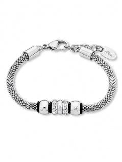 S.Oliver Edelstahl Armband mit Swarovski Elements 9240135