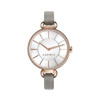 ESPRIT Uhr Damen Rosegold Lederband ES108582002