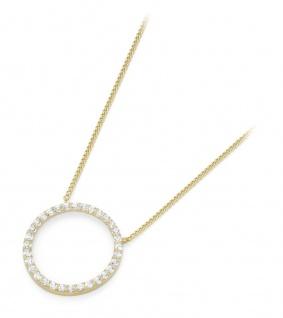 Mittelteil Collier 375 Gold 99023040450