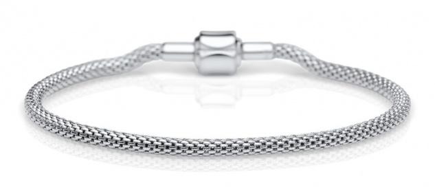 Bering Milanaise Armband Edelstahl 613-10