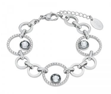 S.Oliver Edelstahl Armband mit Swarovski Elements 2024268