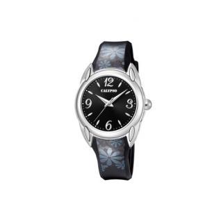 Calypso Armbanduhr schwarz K5734/6