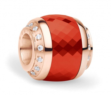 Bering Charm Edelstahl rosévergoldet ILoveYou-1