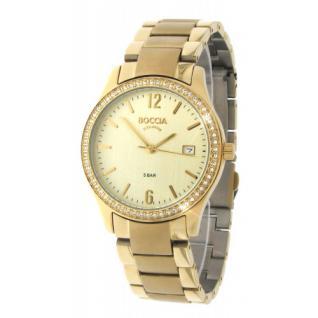 Boccia Titan Gold Armbanduhr 3235-03 Flyer