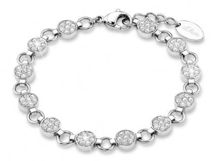 S.Oliver Edelstahl Armband mit Swarovski Elements 9078486